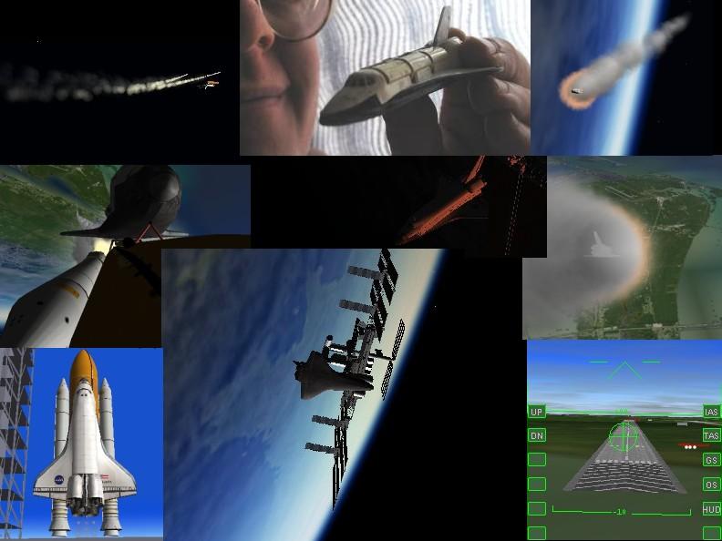 Mission complète en Navette Spatiale (Orbiter) Samynavette123c